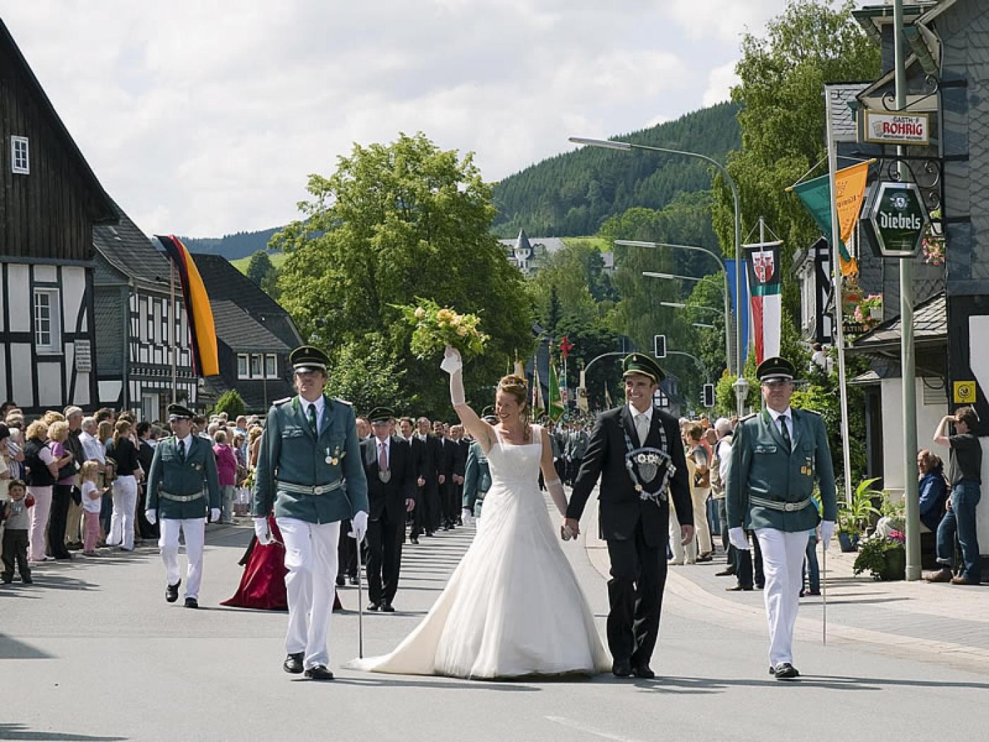 Schützenfest in Fleckenberg (Schmallenberg)