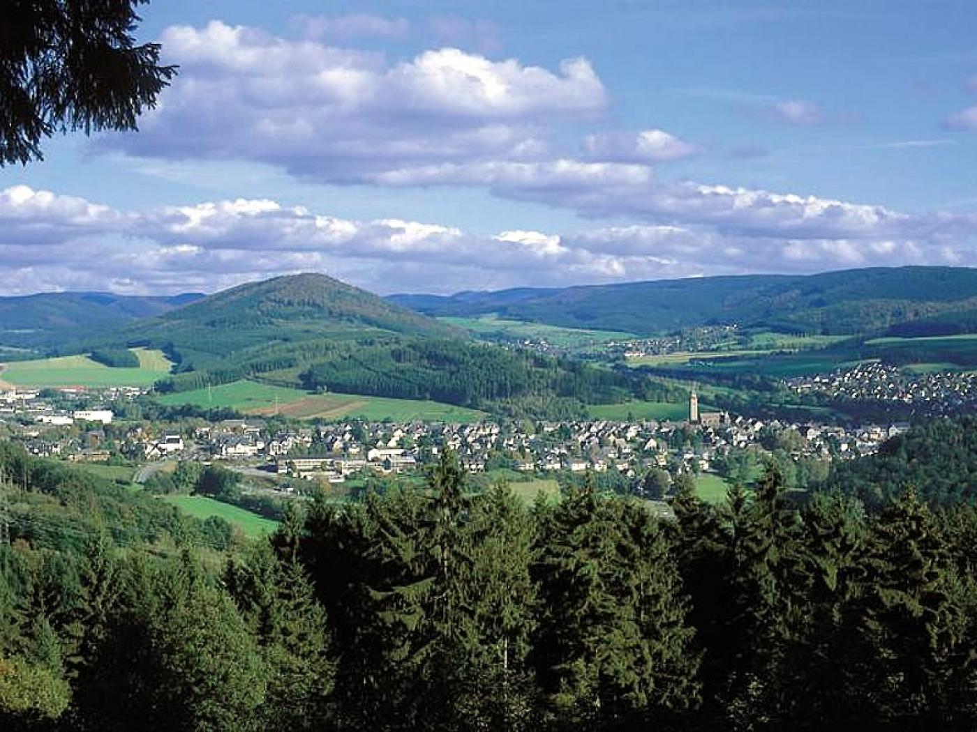 Blick auf die Altstadt (Schmallenberg)