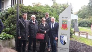 Ungarische Delegation aus Kísber zu Gast in Elslohe