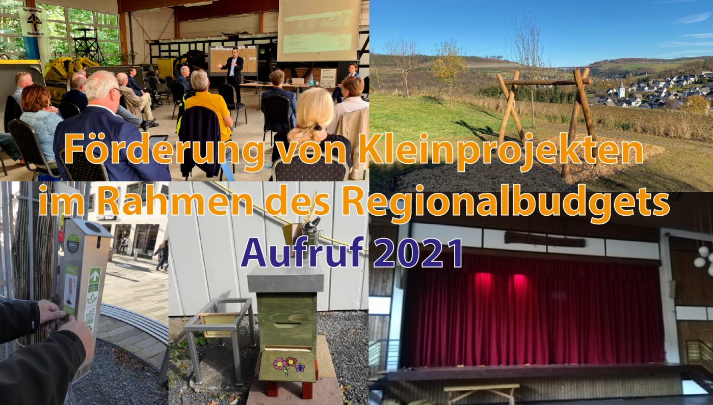 Aufruf zum Regionalbudget 2021