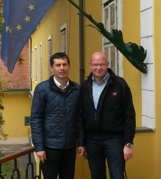 """""""Anbahnung einer Kooperation"""" zwischen der Gemeinde Eslohe (Sauerland) und der Stadt Kísber in Ungarn"""